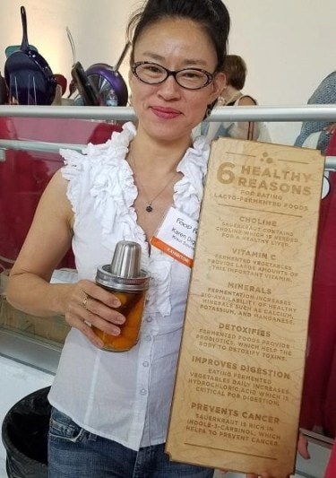 Karen Diggs of Kraut Source fermentation