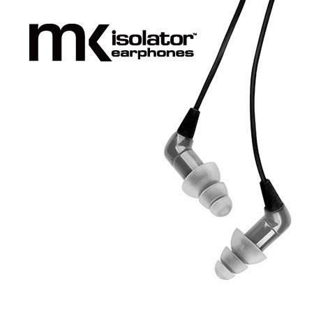Etymotic Research MK% noise isolator earphones