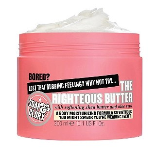 soap and glory the Righteous Butter skincare