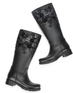 Give Boring Rain Boots the BOOT! Melissa Flower Boot Is For Fashion