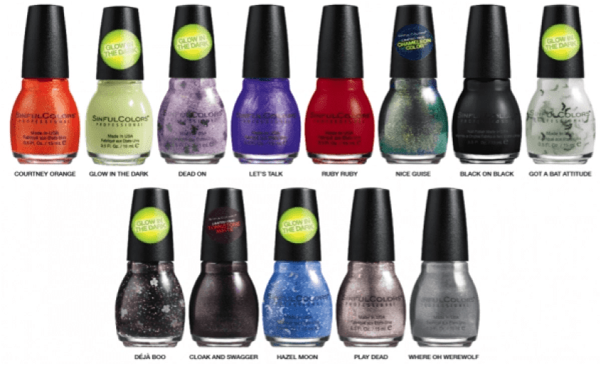 guise-and-ghouls-sinfulcolors-collection-with-color-names