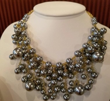 WEST SIDE STATEMENT FRONTAL DROP NECKLACE by carolee