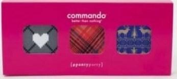 commando thong boxedd set