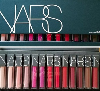 nars velvet glide lip colors