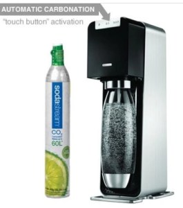 Gift Guide:  Seltzer, Soda, Spritzers? Any Time You Want with Soda Stream!