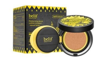 all belif QTY $42.00 belif Moisturizing Bomb Cushion Compact $42