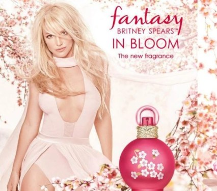 Fantasy in Bloom Britney Spears poster shot