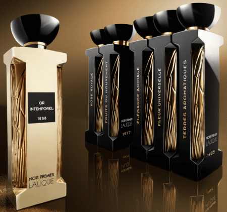 Lalique noir collection