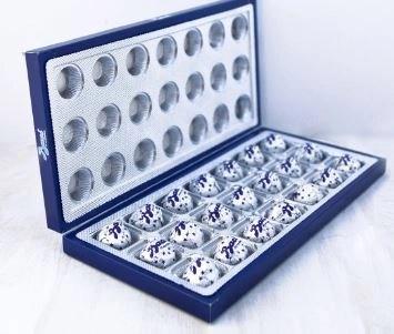 perugina baci in a box open