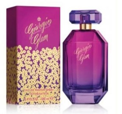 giorgio beverly hills glam box and bottle