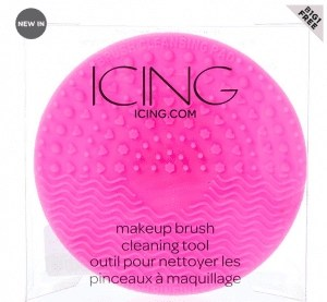 makeup brush cleaning tools from the icing