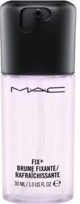 mac cosmetics prep and prime fix in lavender