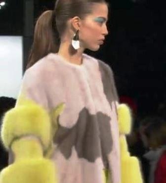 Backstage Beauty Report: Diane Kendall for Mac Cosmetics Prabal Gurung Runway NYFW Fall 2017