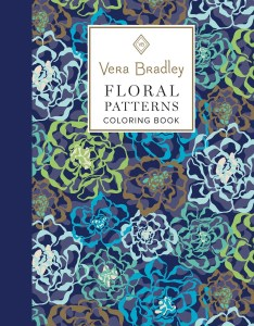 books vera bradley floral patterns coloring book