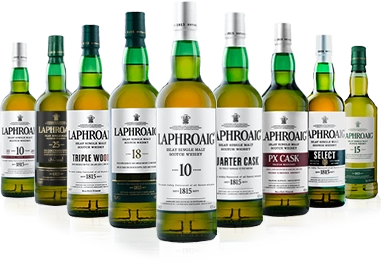Laphroaig whiskies-portfolio