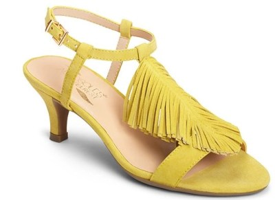Charade by Aerosoles in chartreuse from the web site