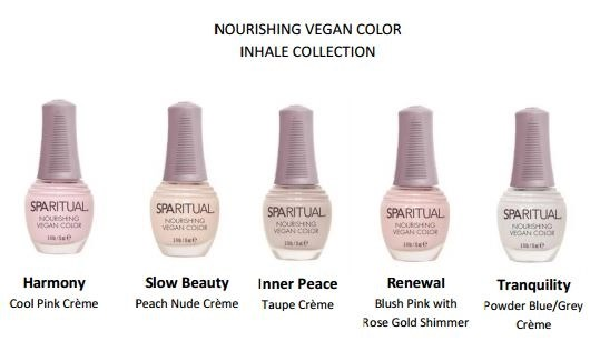 SPARitual Inhale nail polish collection