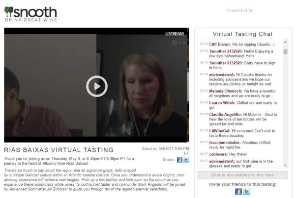 """A Rias Baixas Virtual WineTasting that was a """"10"""""""
