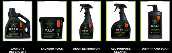 hero clean lineup