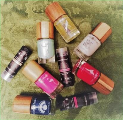 surya brasil lip balms and nail polisj