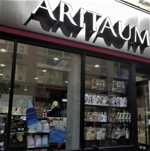 The Storefront for Aritaum in NYC's Chinatown