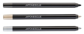 japonesque for ulta kumadori metallic eye pencil trio