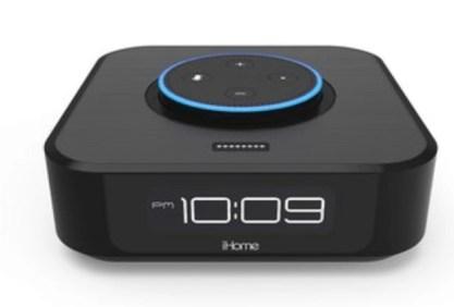 iHome Iavs1 echo dot alexa clock radio speaker