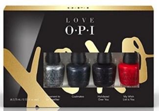opi love xoxo mini nail polish quartet