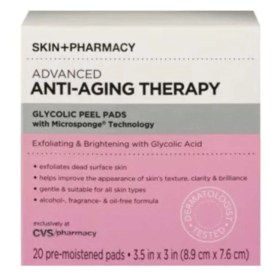 skin + pharmacy glycolic peel pads