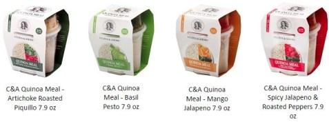 cucina & amore quinoa meals
