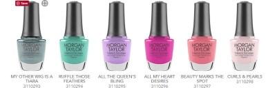 ROyal Temptations nail polish by morgan taylor