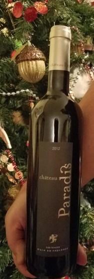 CHATEAU PARADIS PROVENCAL WINE
