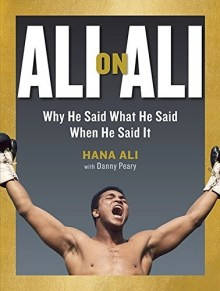 book cover for Ali on Ali by Hana ALi