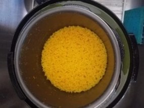 rice in a chefman pressure cooker