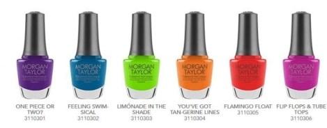 make a splash collection nail lacquer polish by Morgan tAYLOR