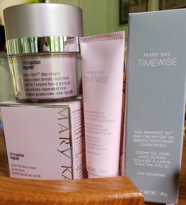 mary kay sun spf 30 products photo by alison blackman