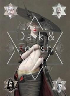 Book Cover Dark & festish art book