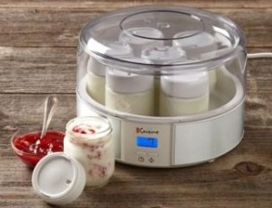 euro cusieine yogurt maker stock photo the grommet