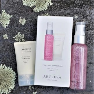 Polished Perfection Exfoliate & Tone set ($24). photo by alison blackman (c) advicesisters.com holiday gift skincare
