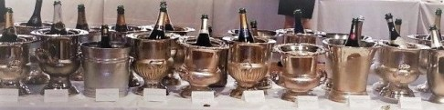 champagne buckets photo by alison backman