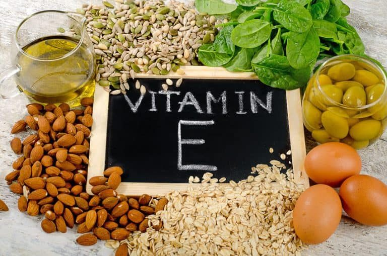 Productos que contienen vitamina e
