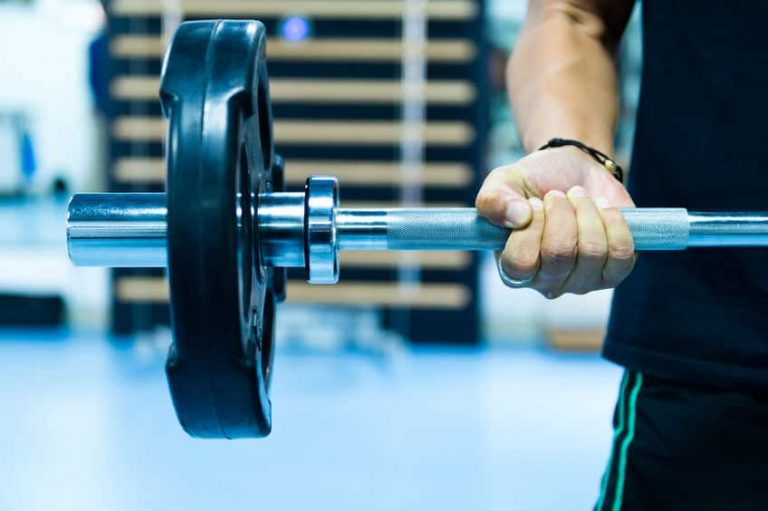 lifting weight
