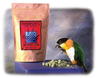 Omschakelen op Harrison's Bird Foods