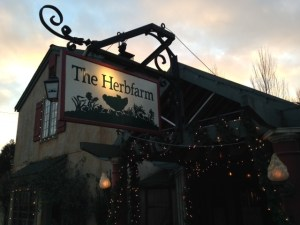 The Herb Farm Restaurant Sign