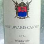 Woodward Canyon 2003 Syrah