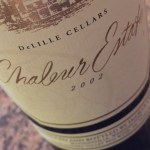 2002 Delille Cellars Chaleur Estate