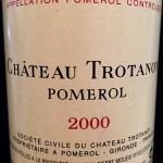 2000 Chateau Trotanoy