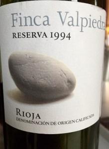 Spain Tempranillo wine