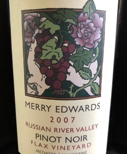 2007 Merry Edwards Flax Vineyard Pinot Noir