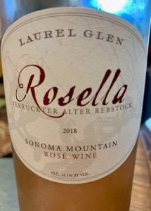 Sonoma valley wine